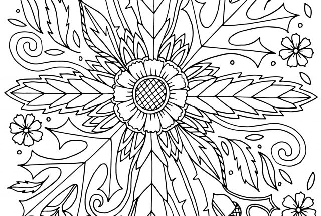 soulflower coloring page thanksgiving 1 640x430 - DIY Thanksgiving Coloring Page