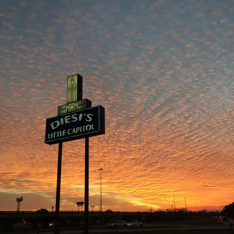 sunset - Cloud Cult Tour Diary #2