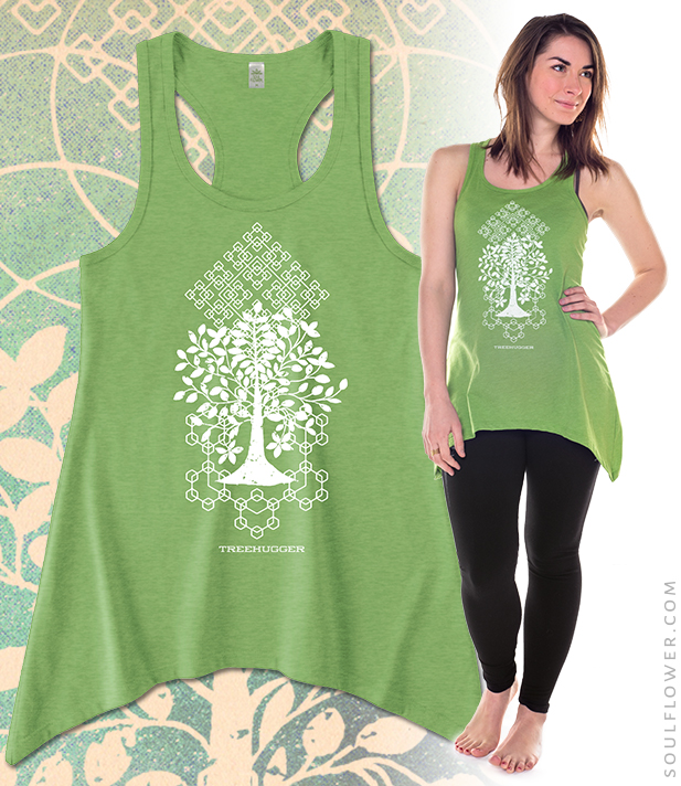 Soul Flower Tarot Tank: Treehugger | Organic Cotton and Recycled Polyester, Made in the USA