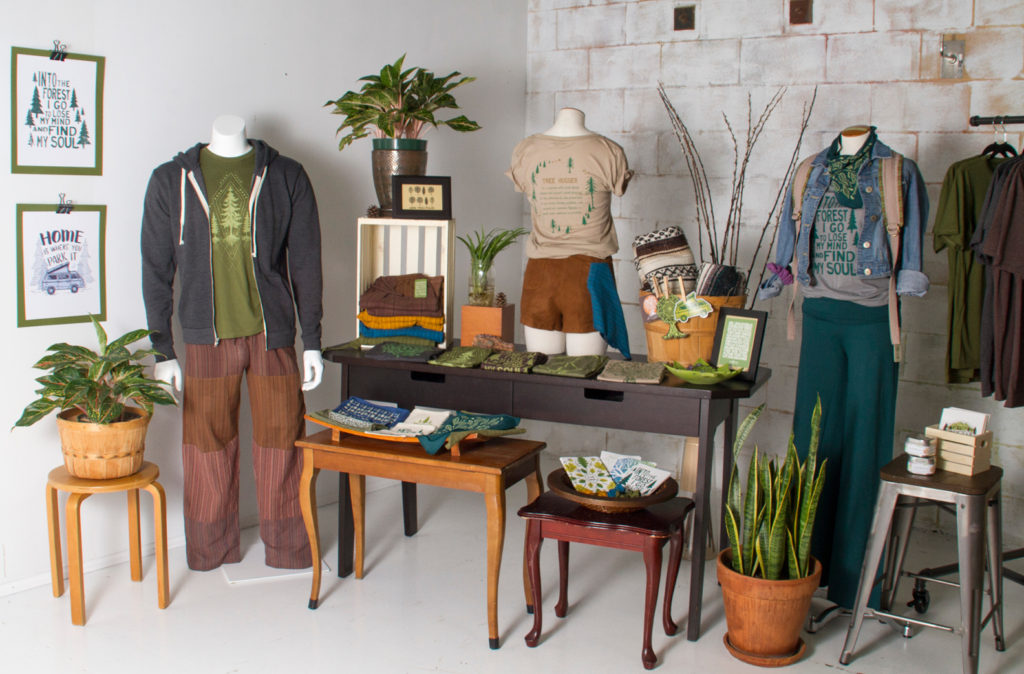 treehugger merchandising display21 1024x674 - More Tree Please! Merchandising Display
