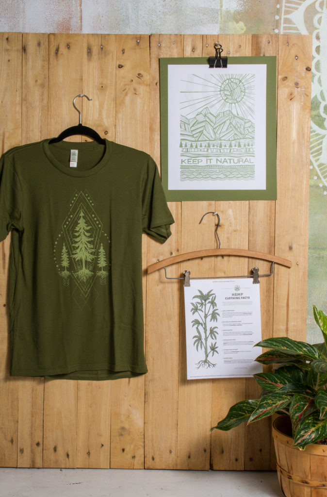 treehugger merchandising display32 674x1024 - More Tree Please! Merchandising Display