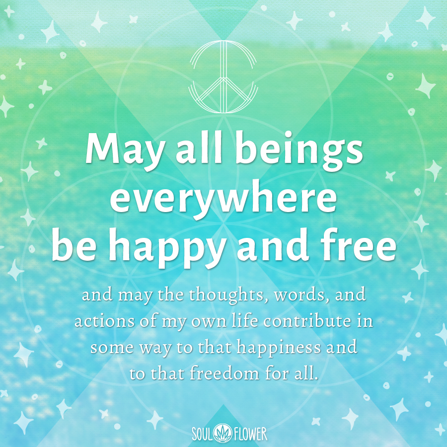 Peace Love And Happiness Quotes Peace Love & Positivity From October  Soul Flower Blog