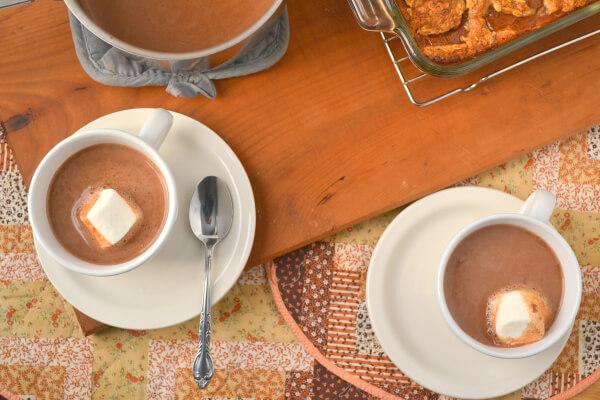 vegan thanksgiving hot cocoa - 20 Vegan Recipes for a Thanksgiving Feast