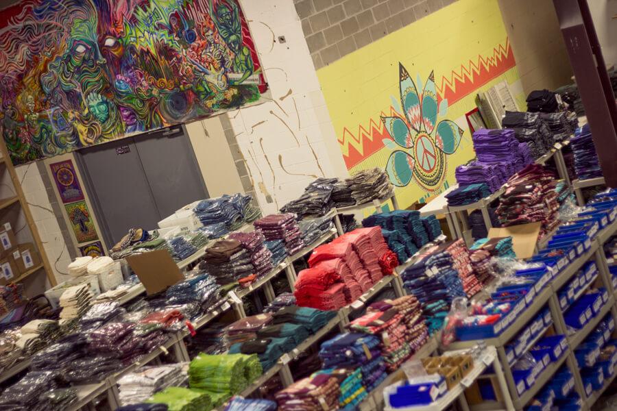 warehouse racks - Soul Flower On The Move!