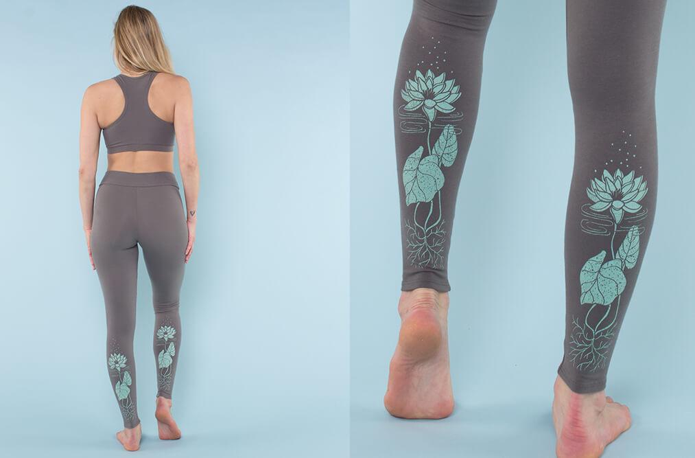 water lotus leggings - Lotus Inspiration: Butterfly Vibes