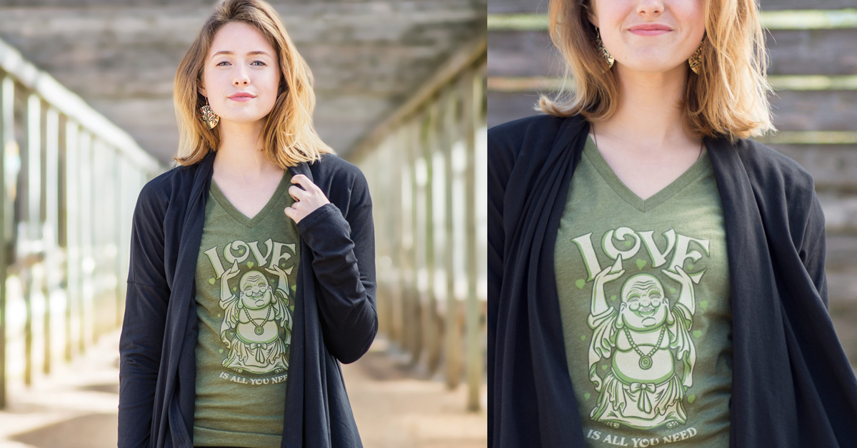 Yoga T-Shirts | Love Buddha