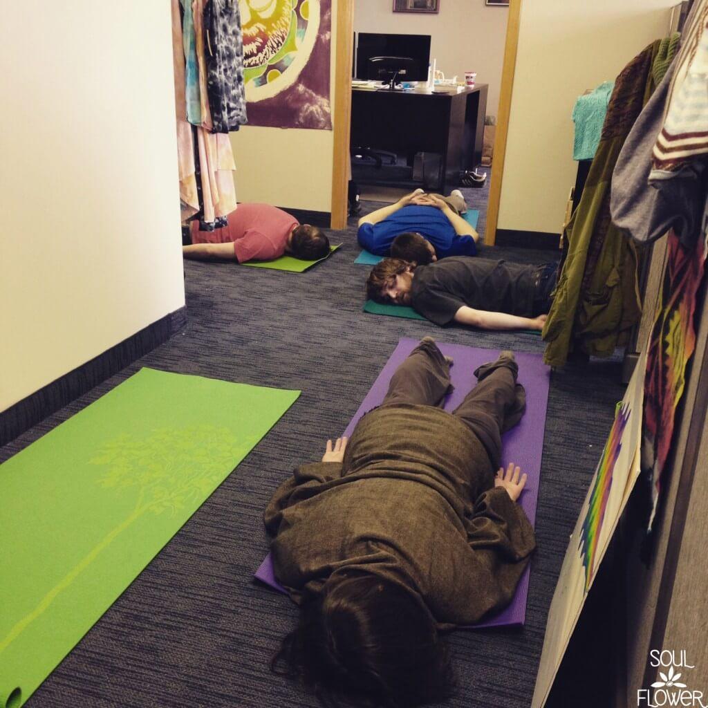 Office Culture: Yoga @ Soul Flower (blog)