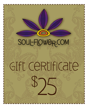 Win a $25 Gift Certificate to Soul-flower.com!