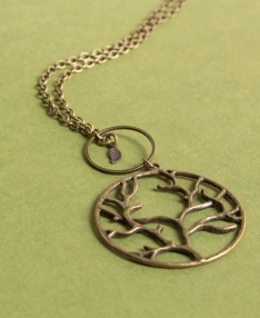 Peace necklace peace symbol necklace soul flower world peace necklace frequently bought with tree of life necklace aloadofball Image collections