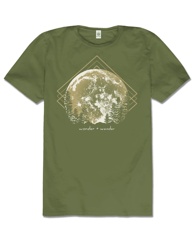 Men s Organic Cotton Graphic Tee Hippie Clothes
