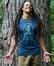 Don't Hate Meditate Men's Organic Cotton T-Shirt