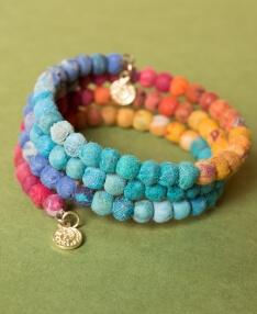 763e9fe43a3 Hippie Clothes - Boho Clothing - Boho Accessories. New Arrivals. NEW!  Rainbow Wrap Bracelet