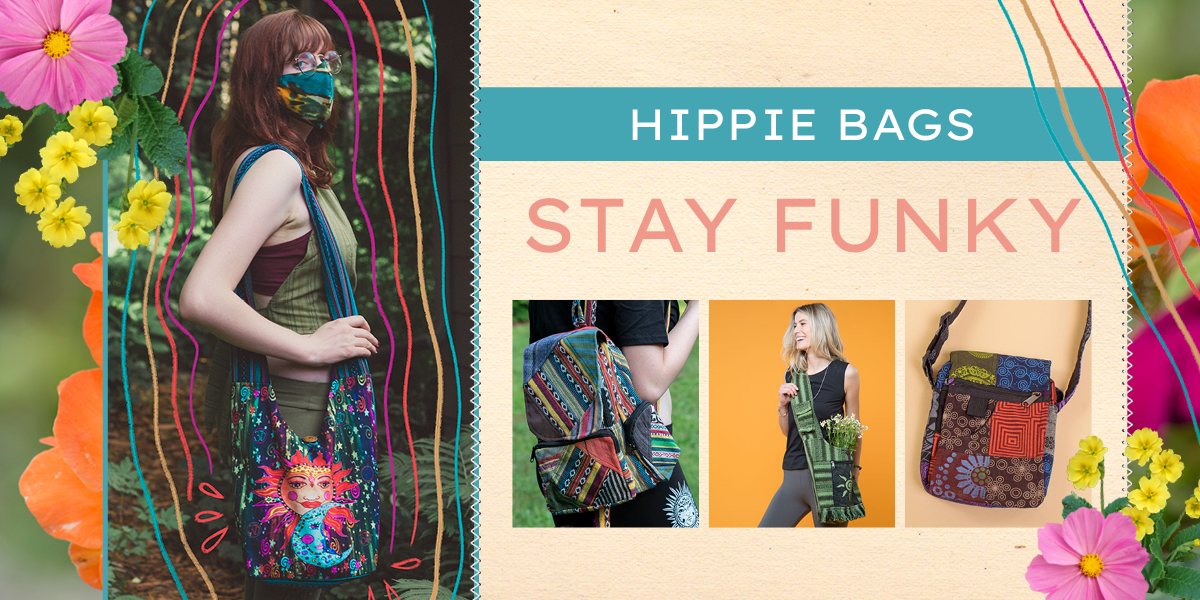 No matter what type of hippie you are, we have all the essentials for all you crunchy granola millennials.